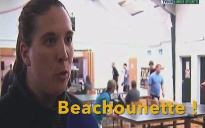 Beach Ping-Pong –  Jouer au tennis de table dans du sable