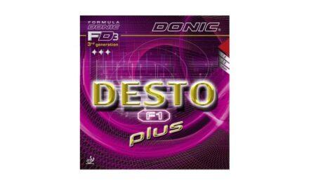 Revêtement DONIC DESTO F1 PLUS