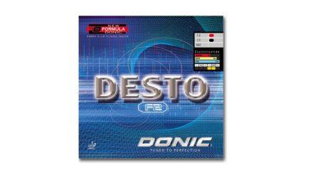 Revêtement DONIC Desto F2