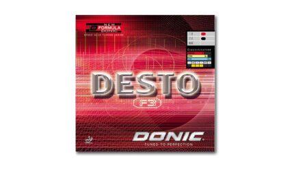 Revêtement DONIC Desto F3