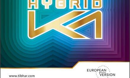 Revêtement Tibhar Hybrid K1 European Version