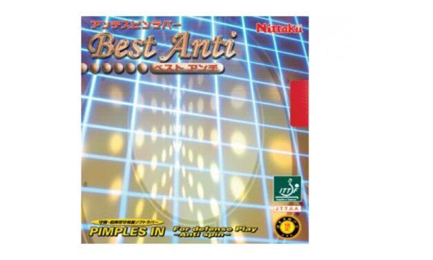 Revêtement Nittaku Best Anti