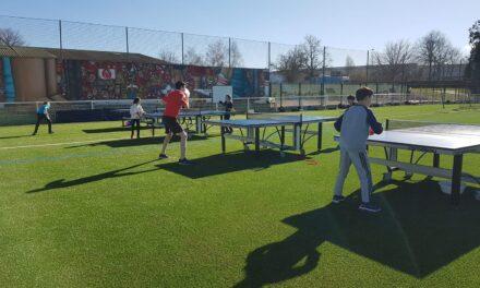 Du Ping-Pong en extérieur
