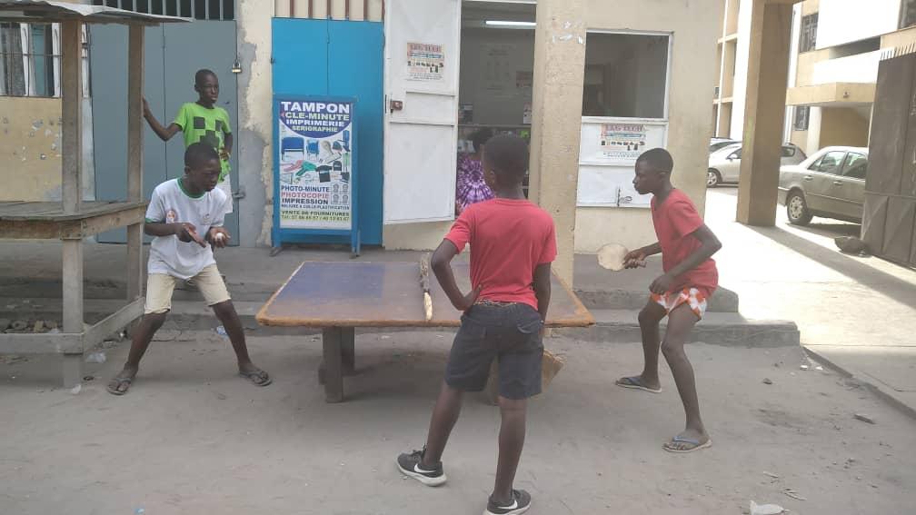 Le tennis de table en côte d'Ivoire