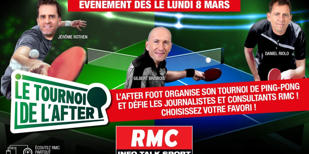 Tournoi de l'after RMC Sport 🏓