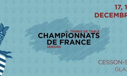 Championnats de France Seniors 2020-2021 de tennis de table