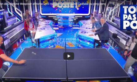Cyril Hanouna Fan de Ping Pong – Touche pas à mon poste ! TPMP