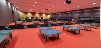 La magnifique salle de Rueil tennis de table