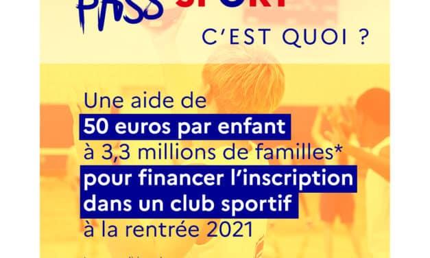 Le « Pass'Sport » : 50€ de réduction sur la licence sportive des jeunes