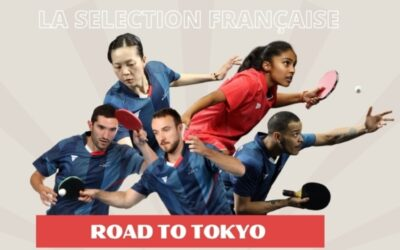 La sélection Française pour les Jeux Olympiques de Tokyo