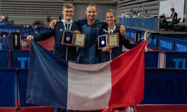 Résultats des Championnats d'Europe Juniors 2021 de tennis de table