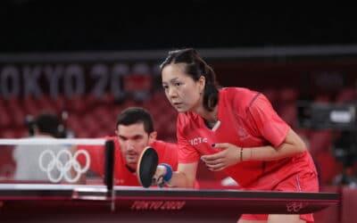 Suivez les Jeux Olympiques de Tokyo de tennis de table