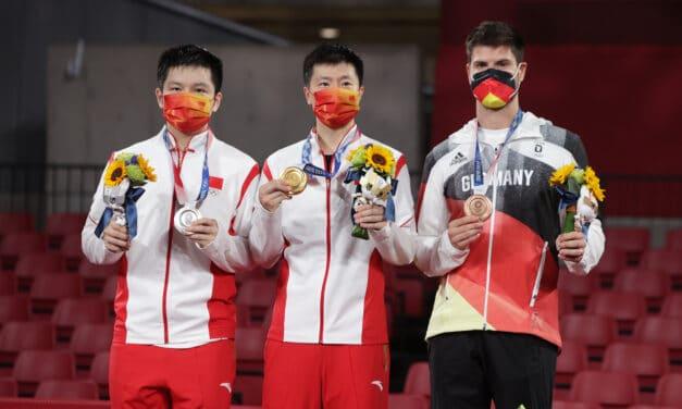 Résultats des Jeux Olympiques de Tokyo de tennis de table