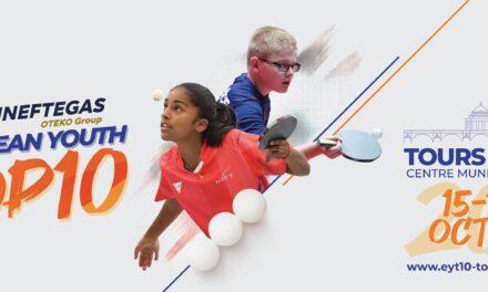 Top 10 Européen Jeunes 2021 à TOURS